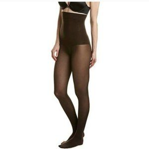 Spanx by Sara Blakely Black Tights High-Waisted -F